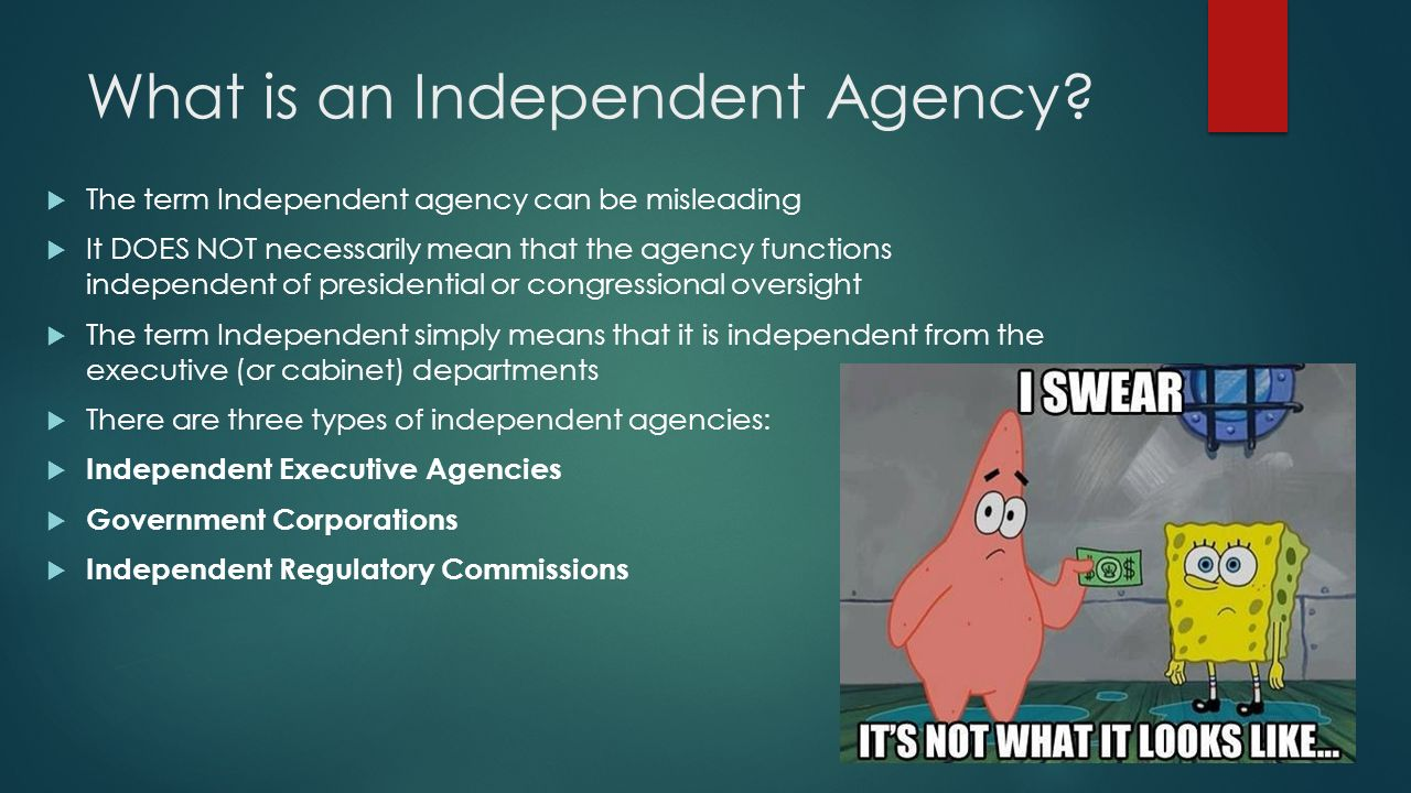 how many cabinet departments are there the federal bureaucracy independent agencies ppt 16687