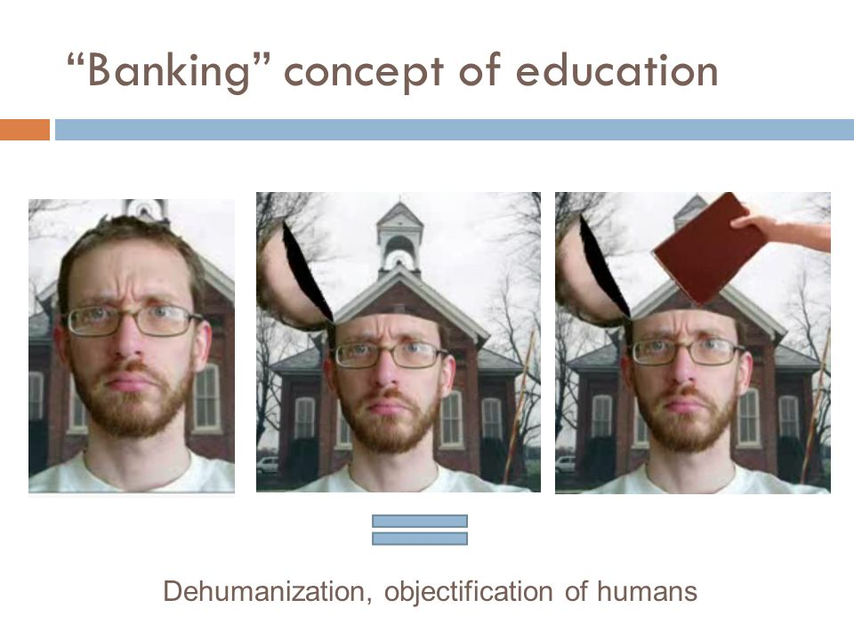 what is the banking concept of education