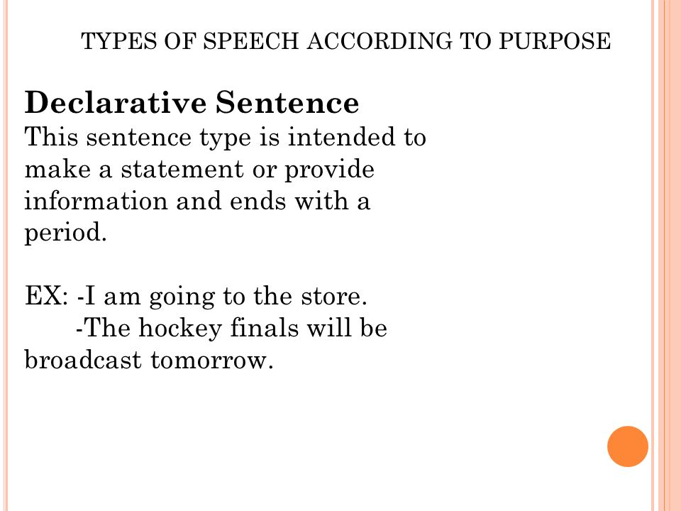 KINDS OF SPEECH IN DIFFERENT SITUATION Ppt Video Online Download