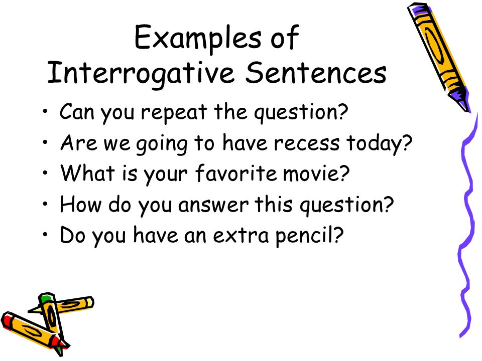 give 5 example of imperative sentence