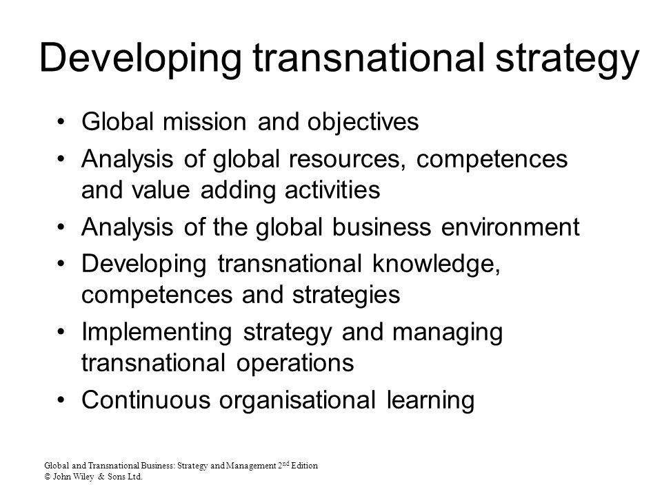 transnational it operations