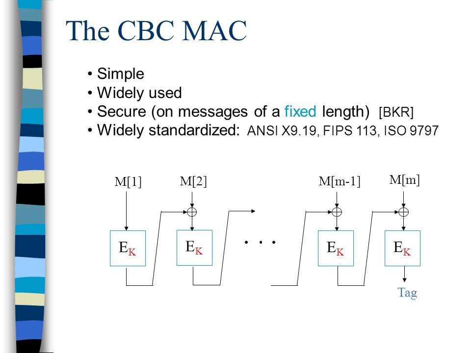 XCBC: A Version of the CBC MAC...