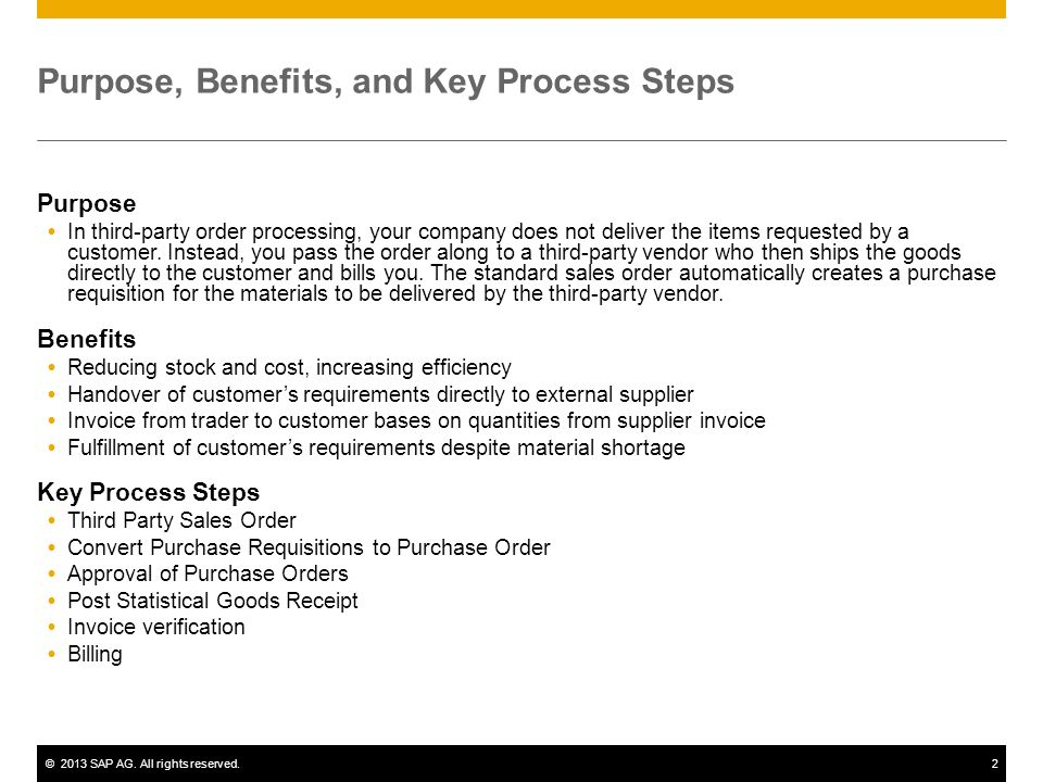 Sales Processing using Third Party (w  Shipping Notification) - ppt