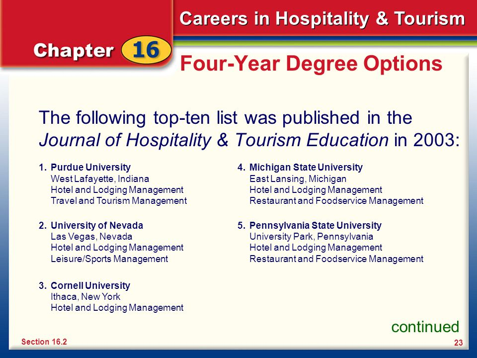 tourism and hospitality management systems Graduates from the tourism and hospitality management program enter careers that include: travel guide, concierge, travel coordinator, hotel manager, tour guide with a degree in tourism and hospitality management, you will enter into one of the most exciting and engaging fields.