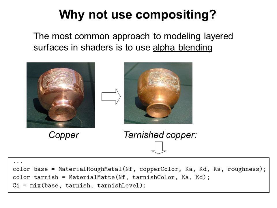 Layered Media / Subsurface Scattering (1) - ppt download