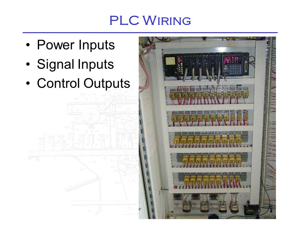 PLC Front Panel. - ppt video online download