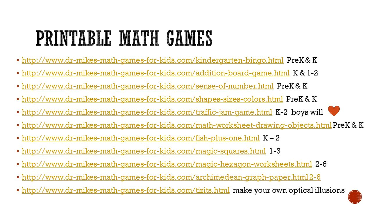 Math games Moore Public Schools. - ppt video online download
