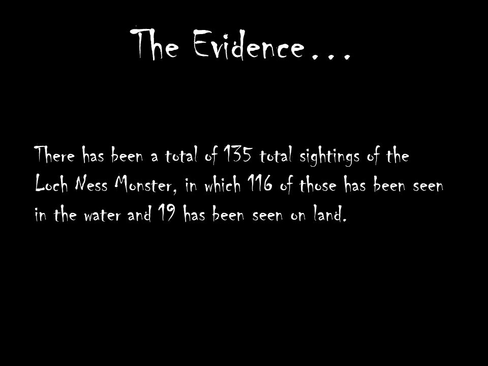 The Loch Ness Monster  - ppt video online download