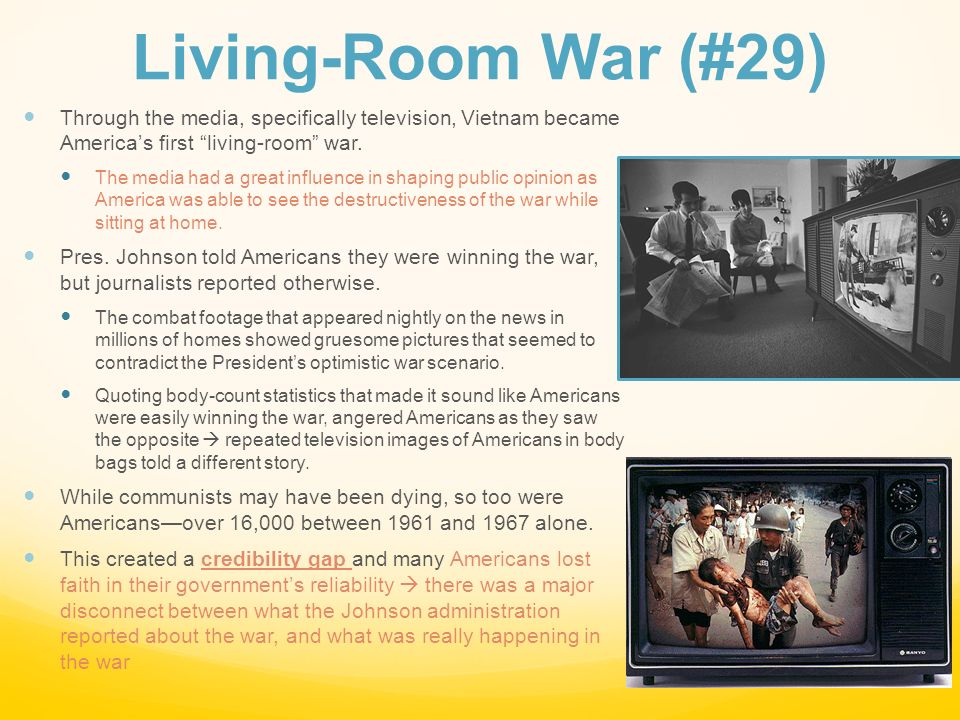 the living room war war 1960s ppt 12899