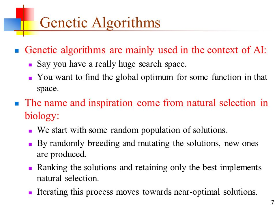 genetic algorithms research papers Jyoti et al, international journal of advance research in computer science and management studies.