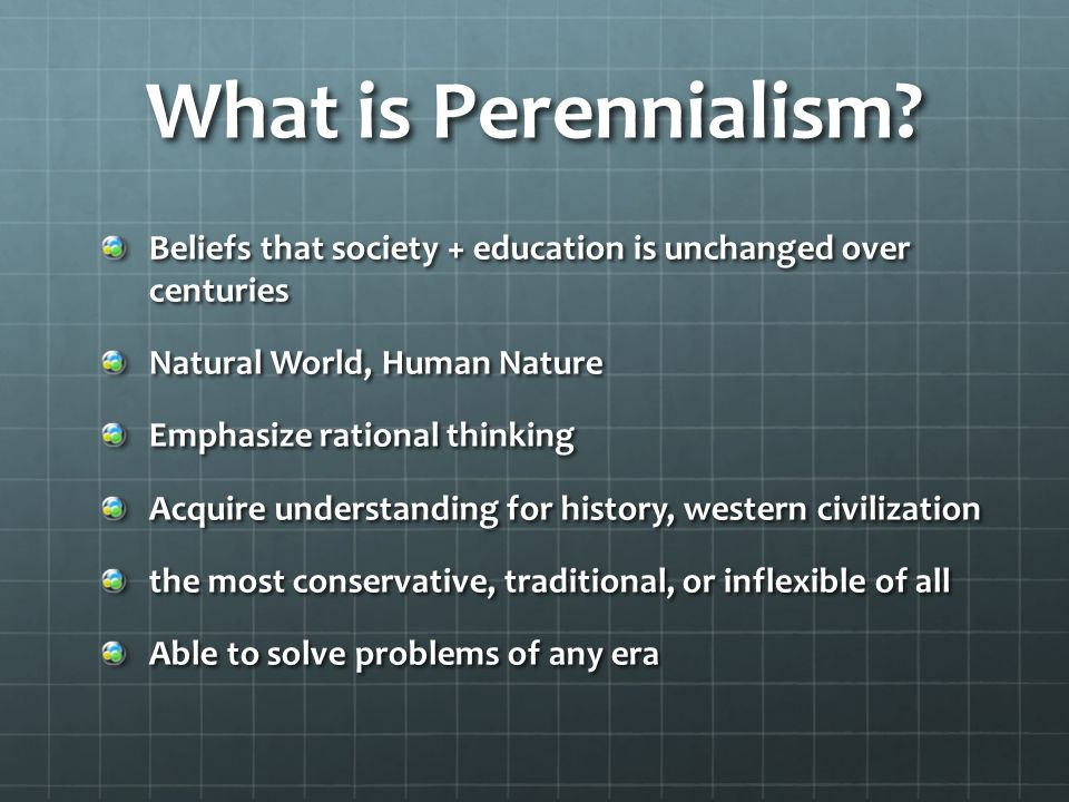 perennialism in education definition