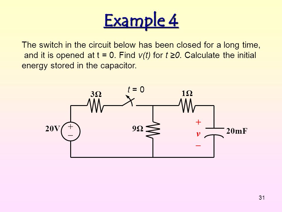 CHAPTER 5 DC TRANSIENT ANALYSIS. - ppt video online download