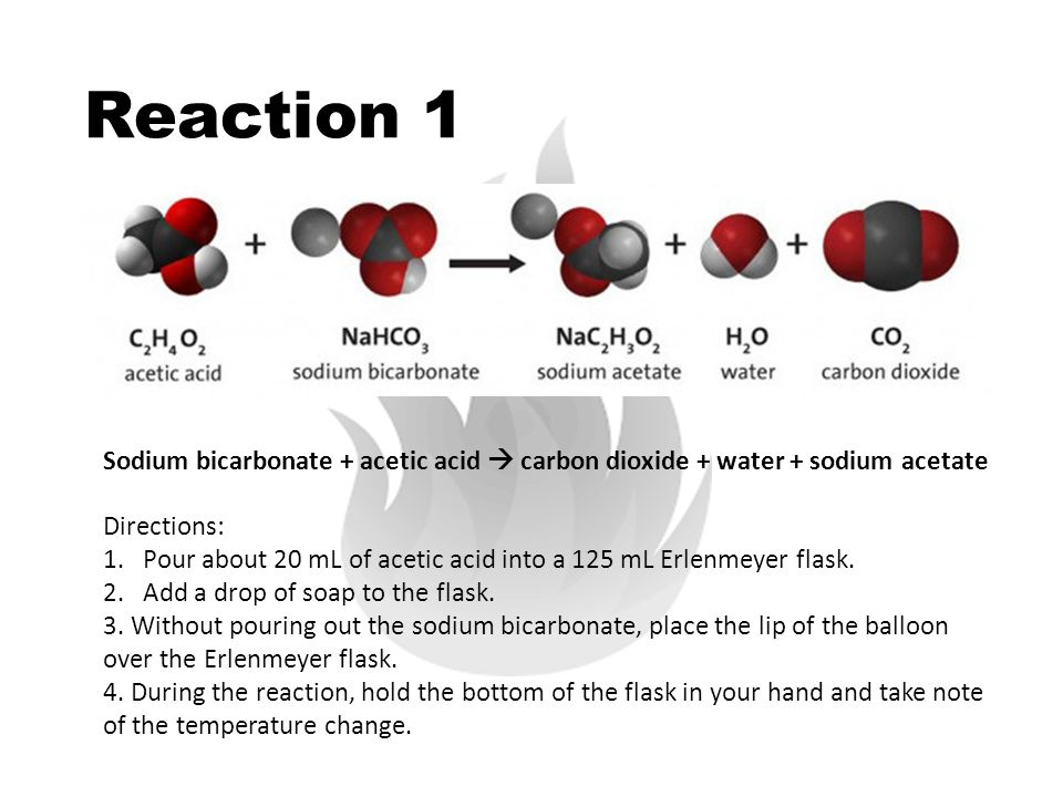 balloon carbon dioxide and chemical reaction Carbon dioxide gas will inflate the balloons but they do not fly like helium inflated balloons as it is not the same kind of gas this is meant to be a fun science experiment/demonstration go ahead have fun inflating some balloons.