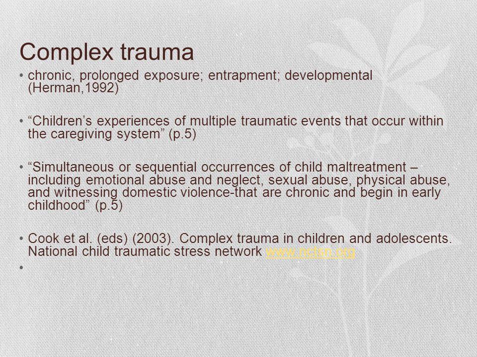 Saol march 2016 the impact of trauma on children rosaleen 4 complex toneelgroepblik Gallery