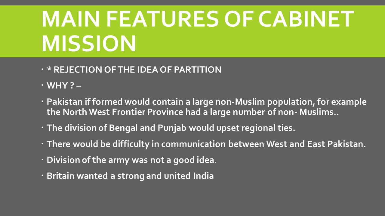 Partition Of India Reasons For The Wavell Plan Ppt Video Online