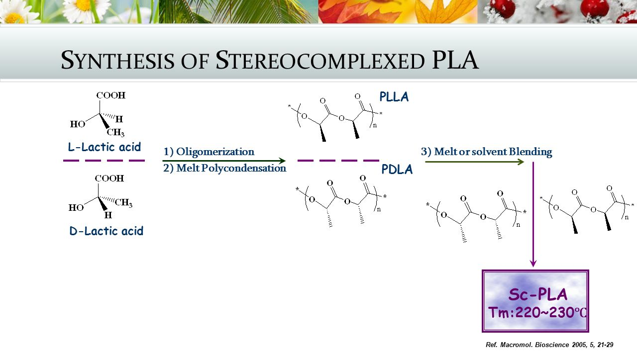 Synthesis of Stereocomplexed PLA