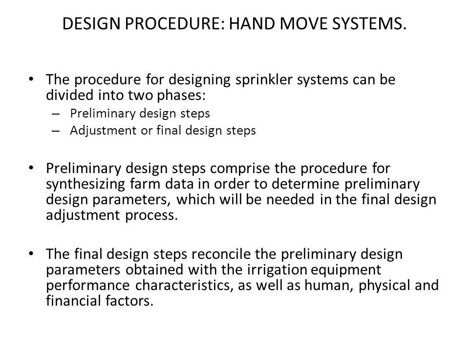 Introduction To Overhead Sprinkler Irrigation Design Ppt Download