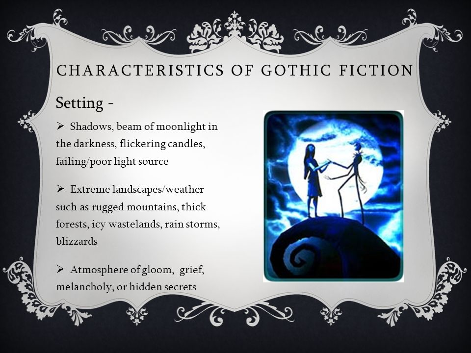 American Gothic Literature - ppt video online download