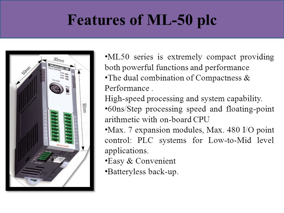 modular plc applications