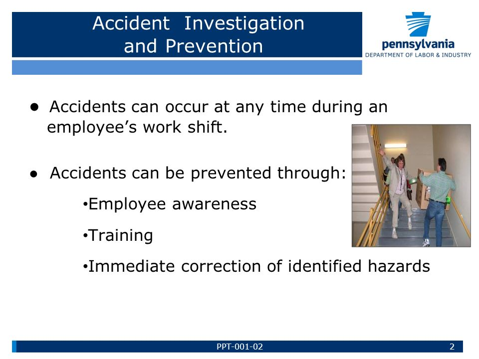 Madison : Accident investigation training ppt