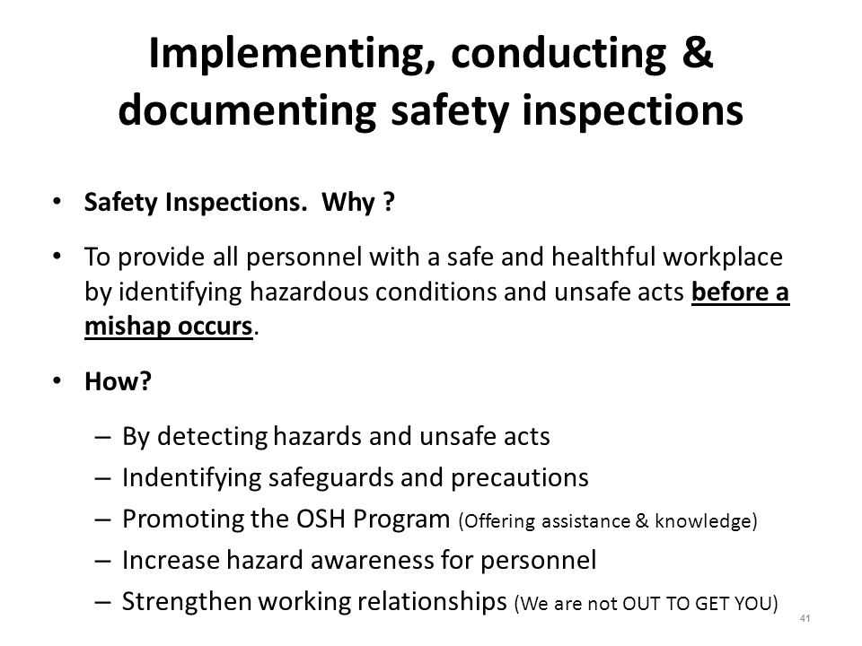 Supervisor Safety Training Ppt Download