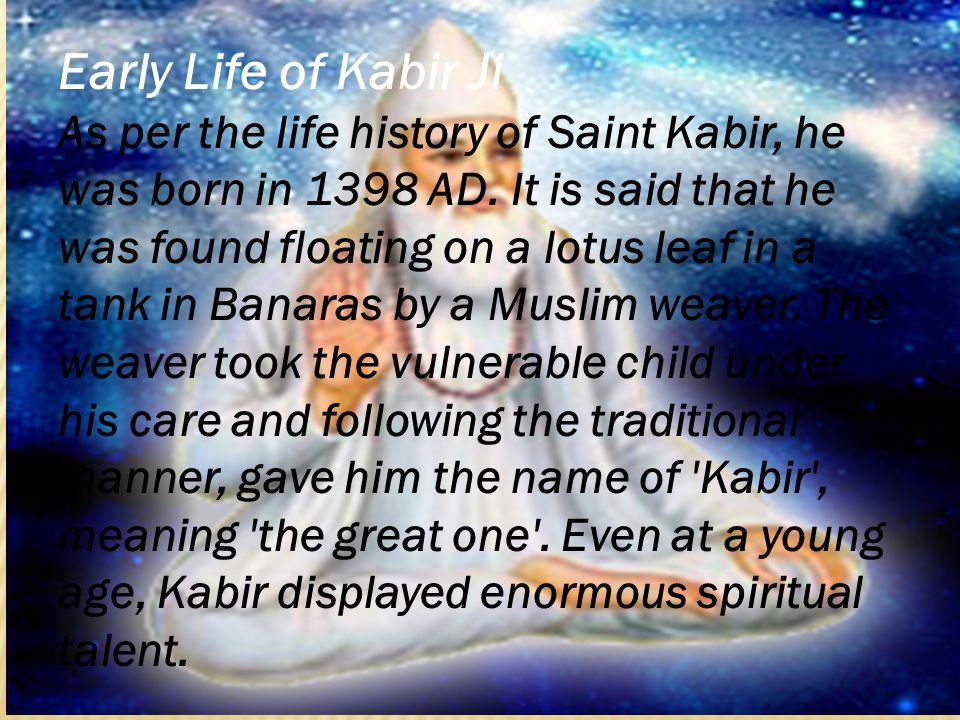 saint kabir biography