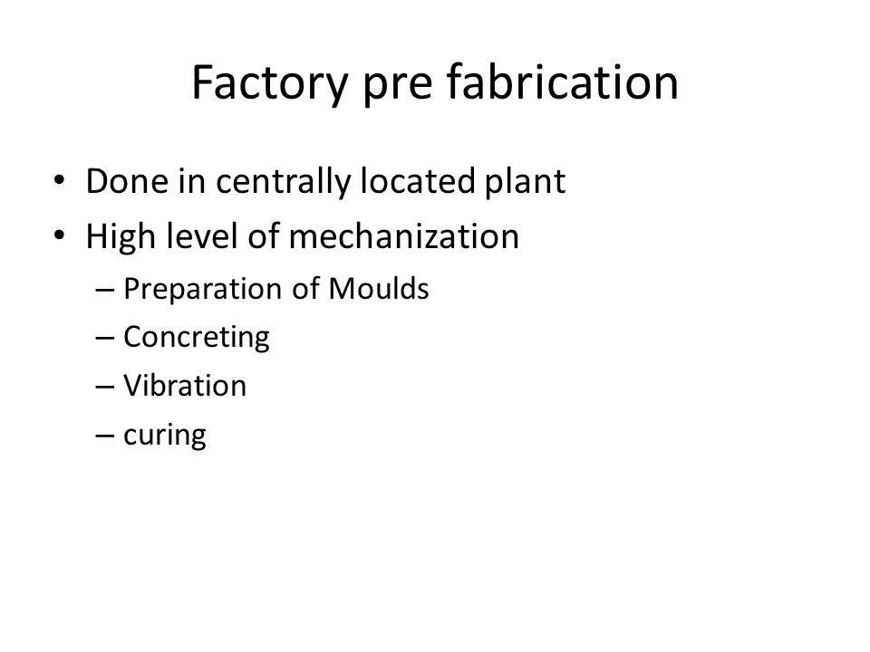 PREFABRICATED STRUCTURES - ppt video online download