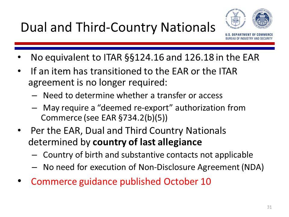 Implementation Of Us Export Control Reform Update Ppt Download