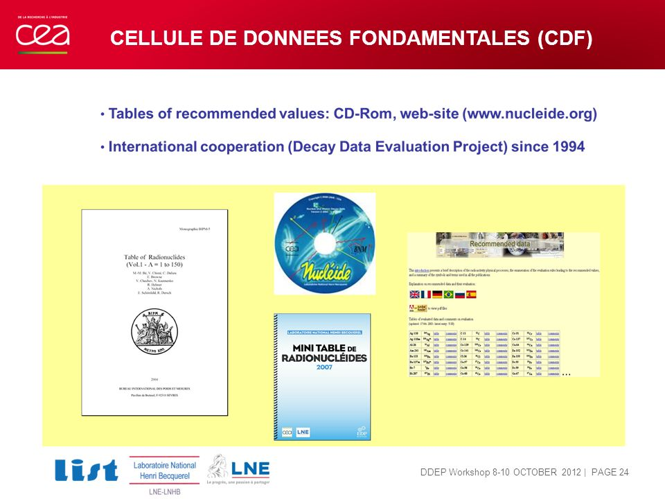 CELLULE DE DONNEES FONDAMENTALES (CDF)