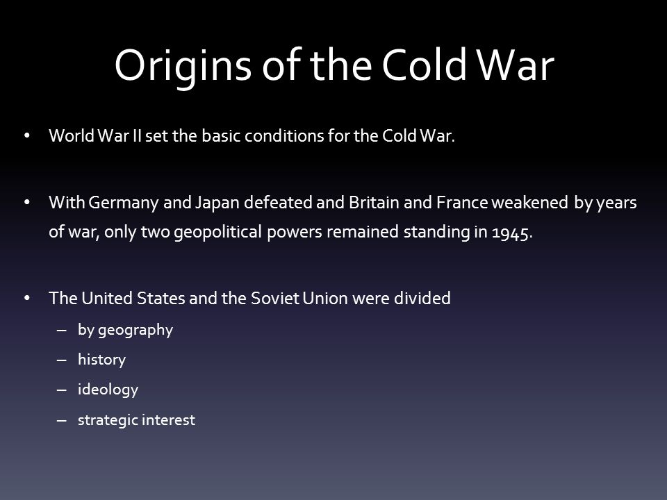 cold war america chapter ppt download rh slideplayer com guided reading origins of the cold answer key 26.1 guided reading origins of the cold war