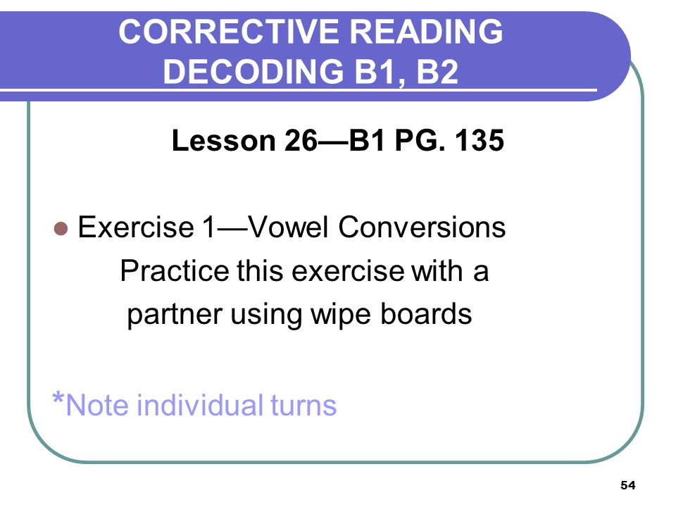 Corrective reading training ppt video online download corrective reading decoding b1 b2 ibookread PDF