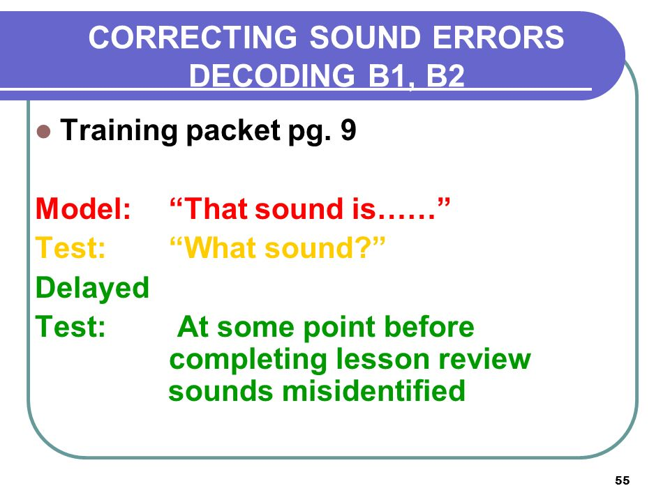 CORRECTIVE READING TRAINING - ppt video online download