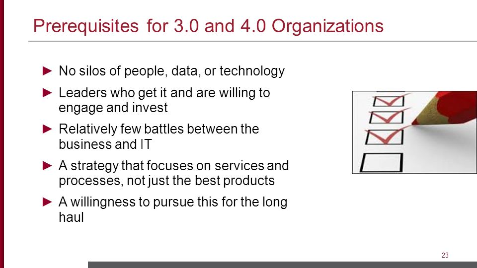 Prerequisites for 3.0 and 4.0 Organizations