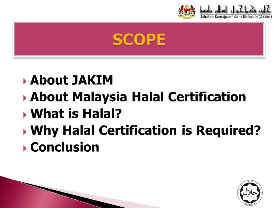 what is halal why halal certification is required ppt video rh slideplayer com malaysian halal certification procedure manual Turkey Jelly Halal Certification