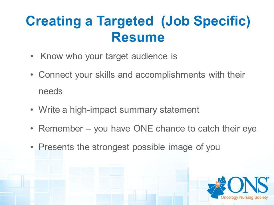 Resume Writing Workshop Creating A Winning