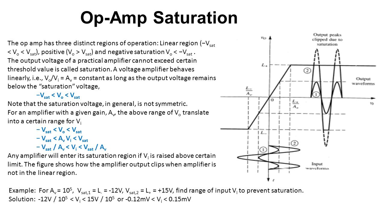 Operational Amplifiers Ppt Video Online Download Solving Op Amp Circuit 15