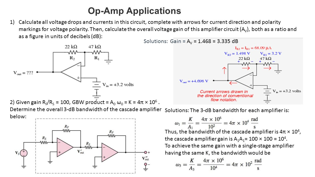 Operational Amplifiers Ppt Video Online Download Dual Op Amp Circuit Diagram Amplifiercircuit 23 Applications
