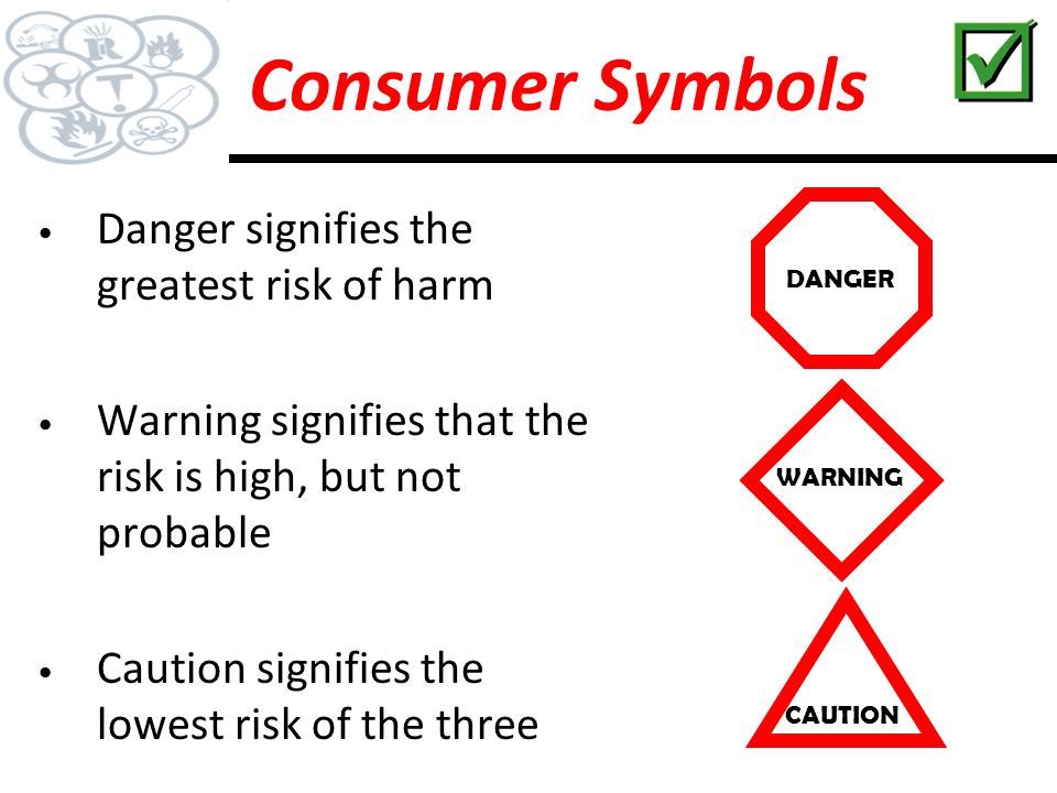 Image result for danger warning and caution signs whmis