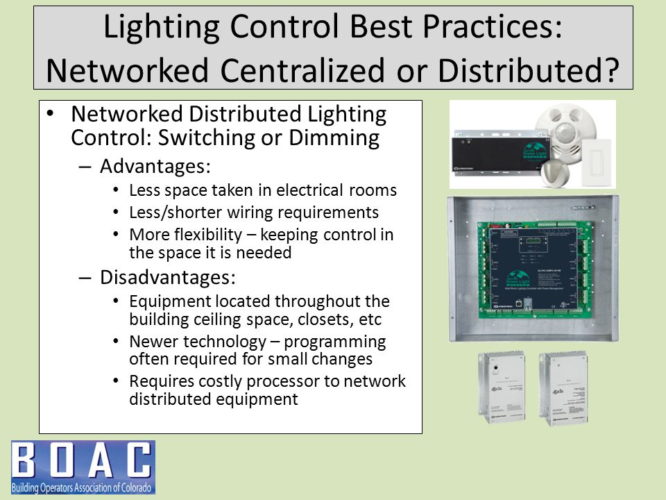 Building Lighting Controls - ppt video online download