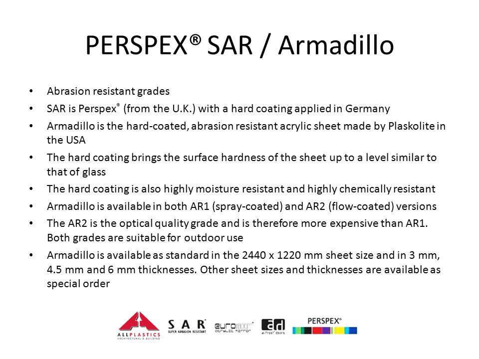 Allplastics PERSPEX® Presentation - ppt video online download