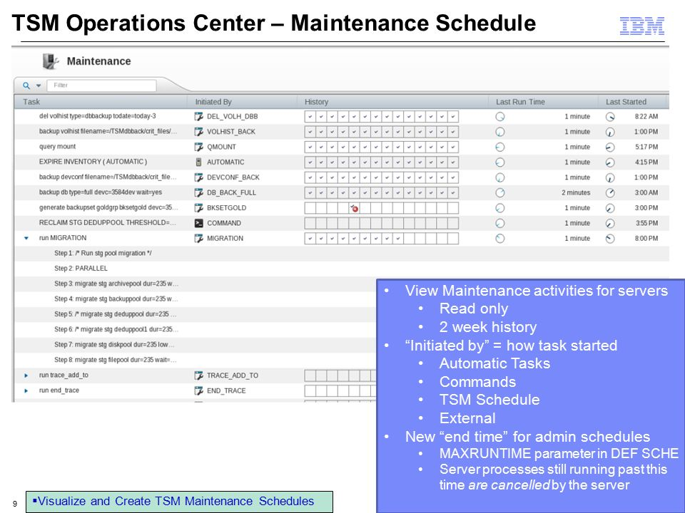 Course title Tivoli Storage Manager Server, Client, Operation Center