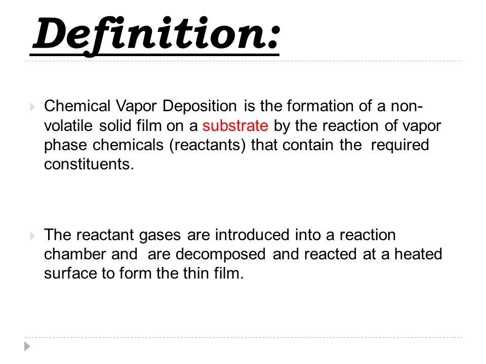 Non volatile definition chemistry