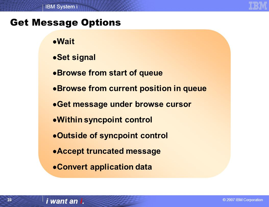 Introduction to WebSphere MQSeries Common Annual Conference - ppt