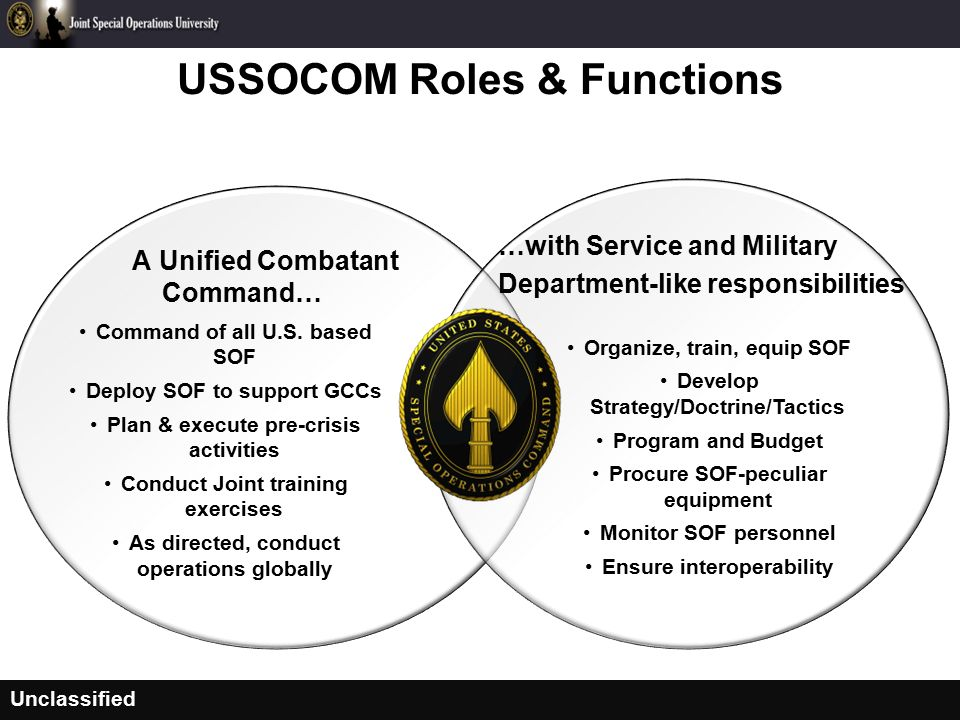 United States Special Operations Command (USSOCOM) - ppt