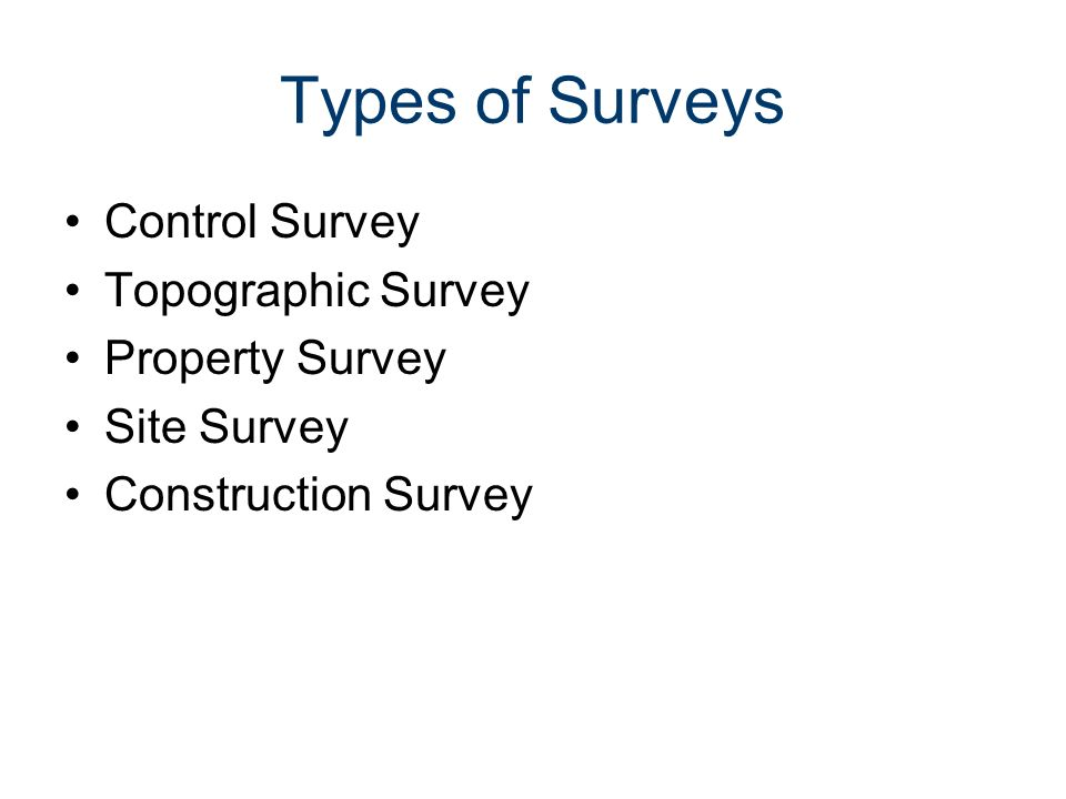 types of land surveys real estate land surveying civil engineering and architecture ppt 5732