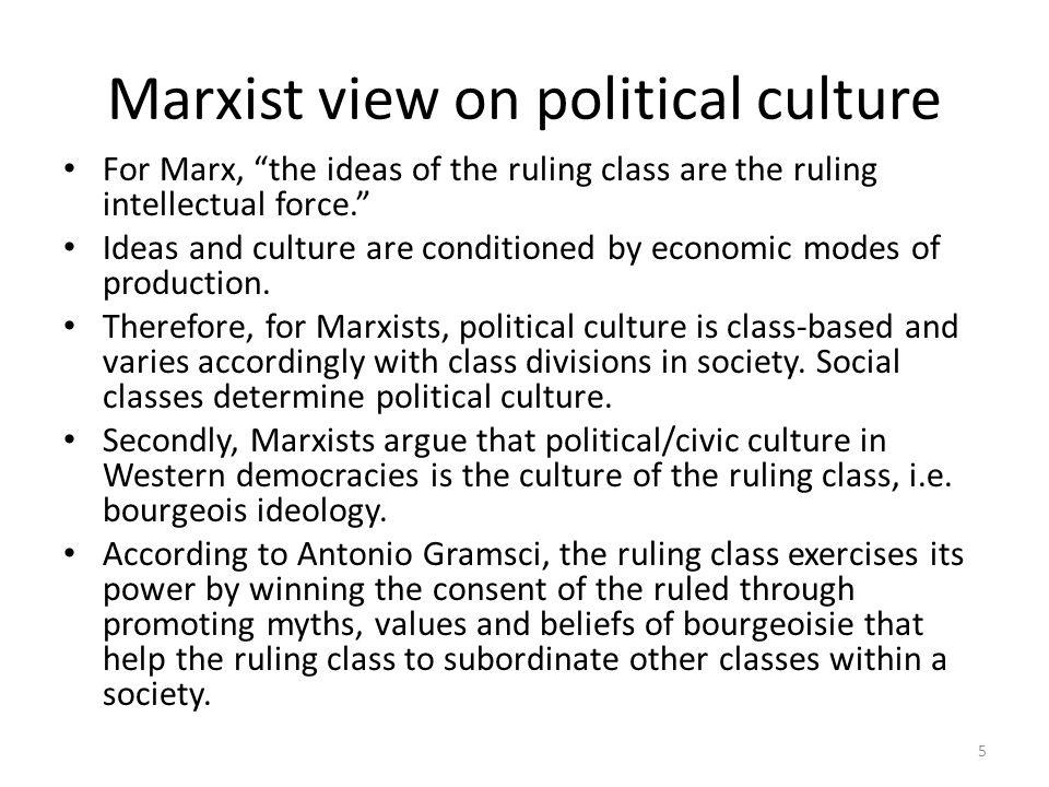 Subordinate political culture