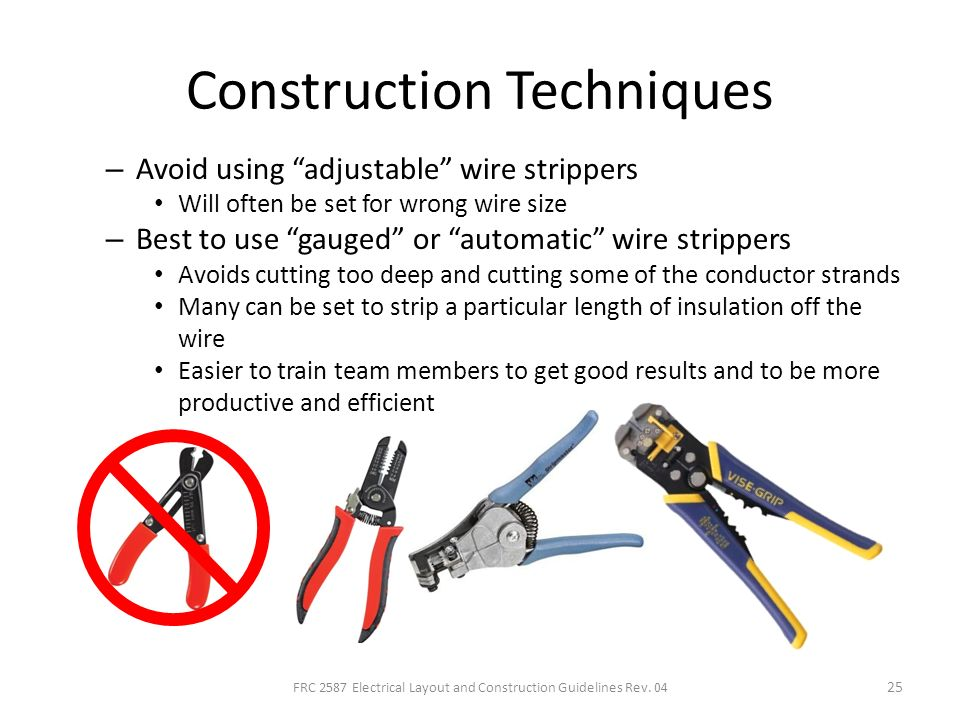 Electrical Layout and Construction Techniques for FRC - ppt ... on can go, can filter, can fan, can design, can frame, can wire, can dimensions,