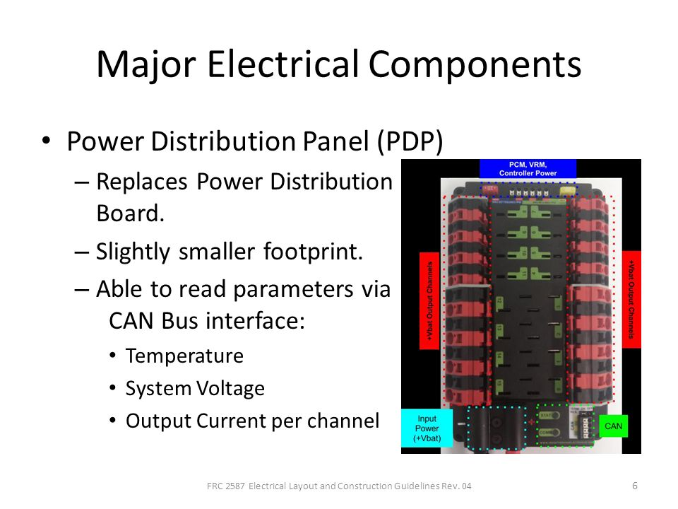 Electrical Layout And Construction Techniques For Frc Ppt Download