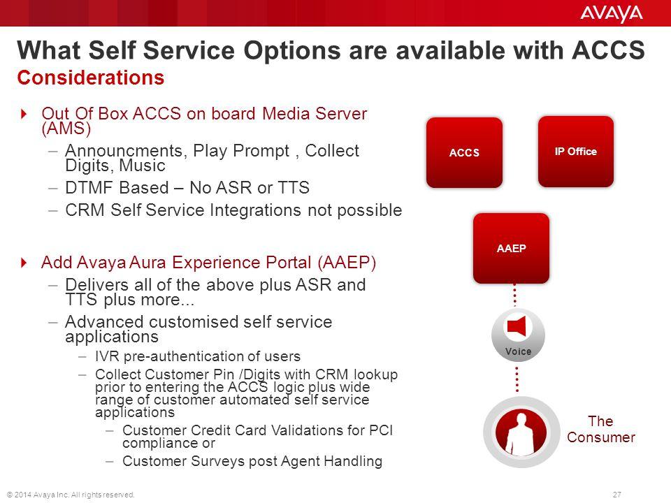 Avaya Contact Center Select Customer Engagement Solutions