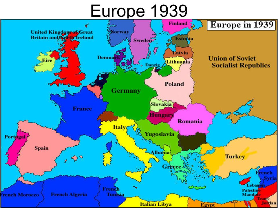 Europe 1939 how did post world war i europe set the stage for world 3 europe 1939 gumiabroncs Choice Image